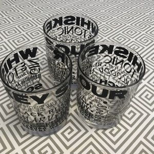 Other - Vintage Drink Glasses